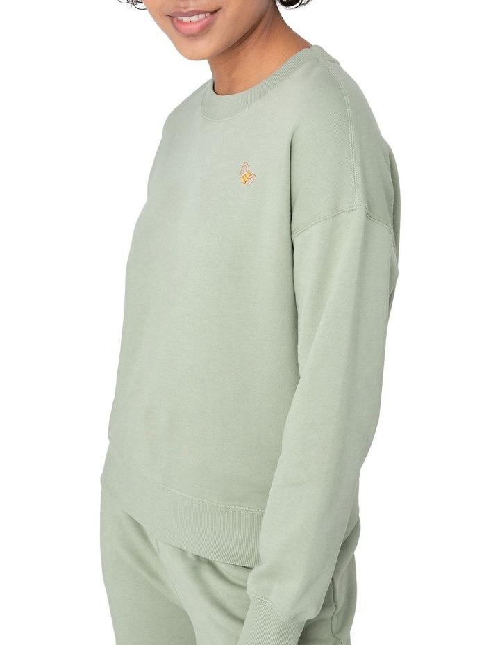 Marissa Fleece Sweater Green image 4