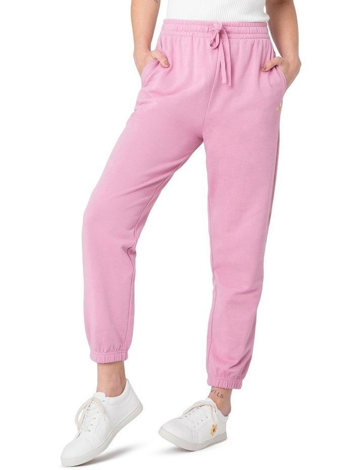 Marissa Fleece Track Pants Pink image 1