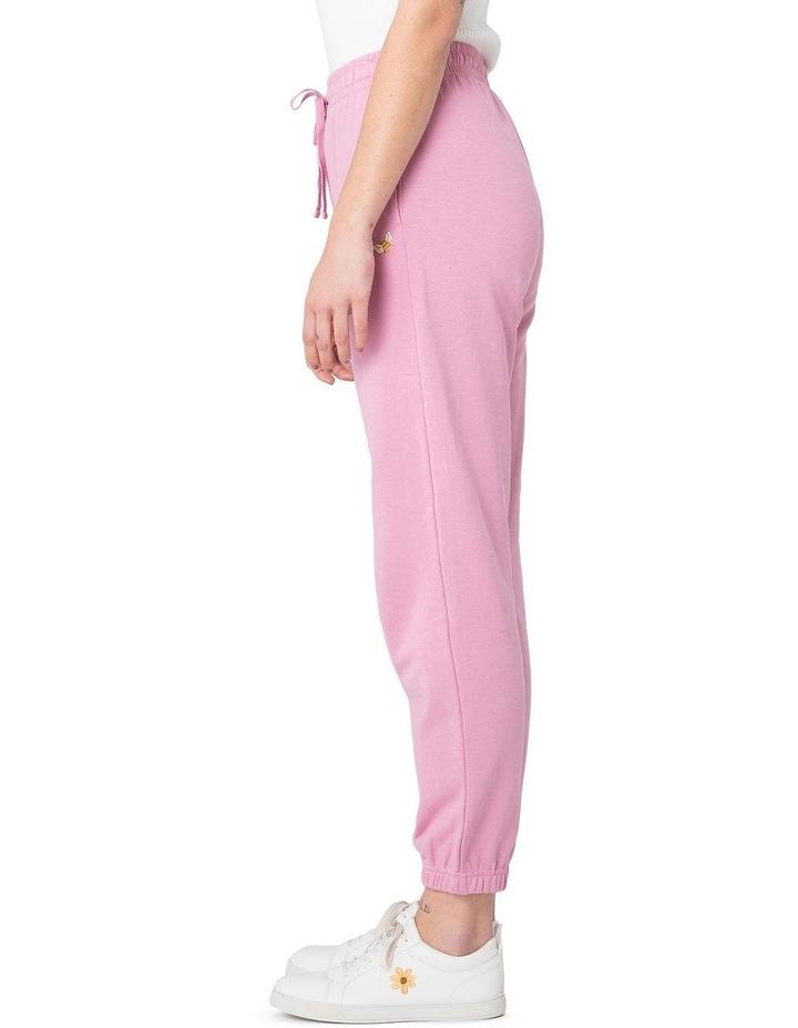 Marissa Fleece Track Pants Pink image 2