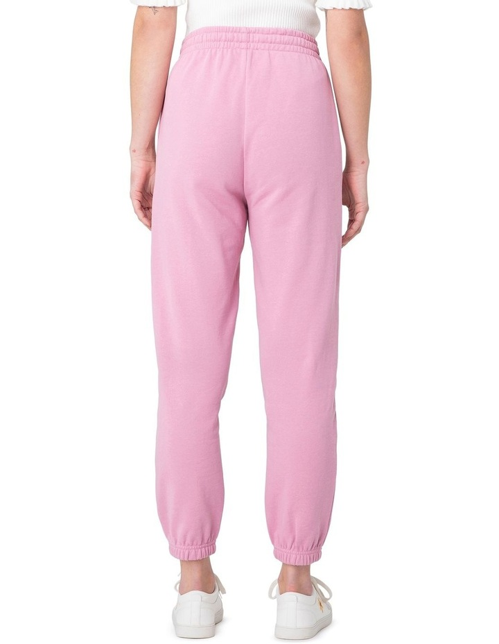 Marissa Fleece Track Pants Pink image 3