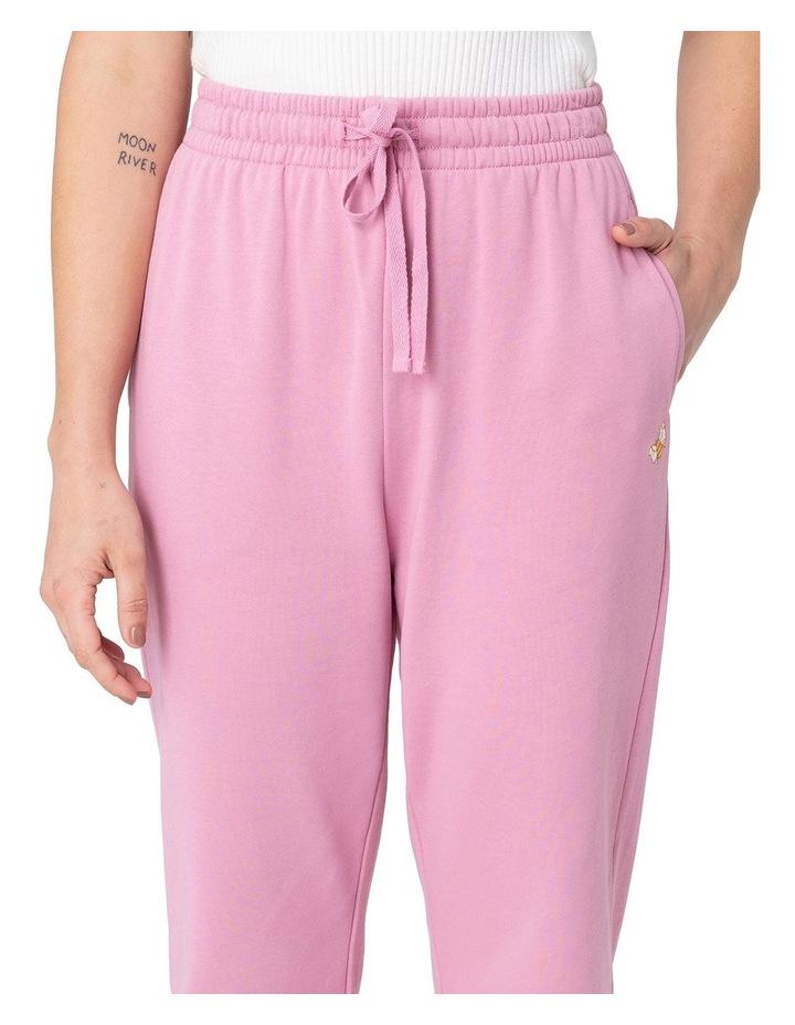 Marissa Fleece Track Pants Pink image 4