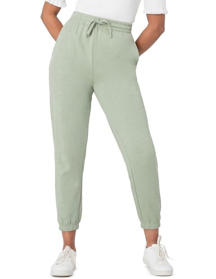 Marissa Fleece Track Pants Green image 1