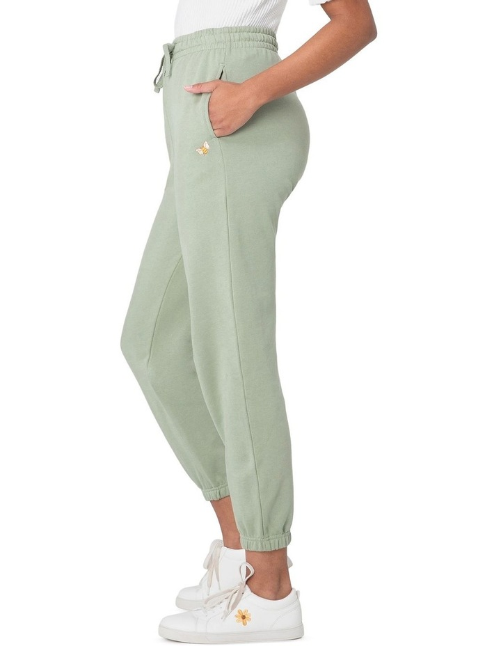 Marissa Fleece Track Pants Green image 2