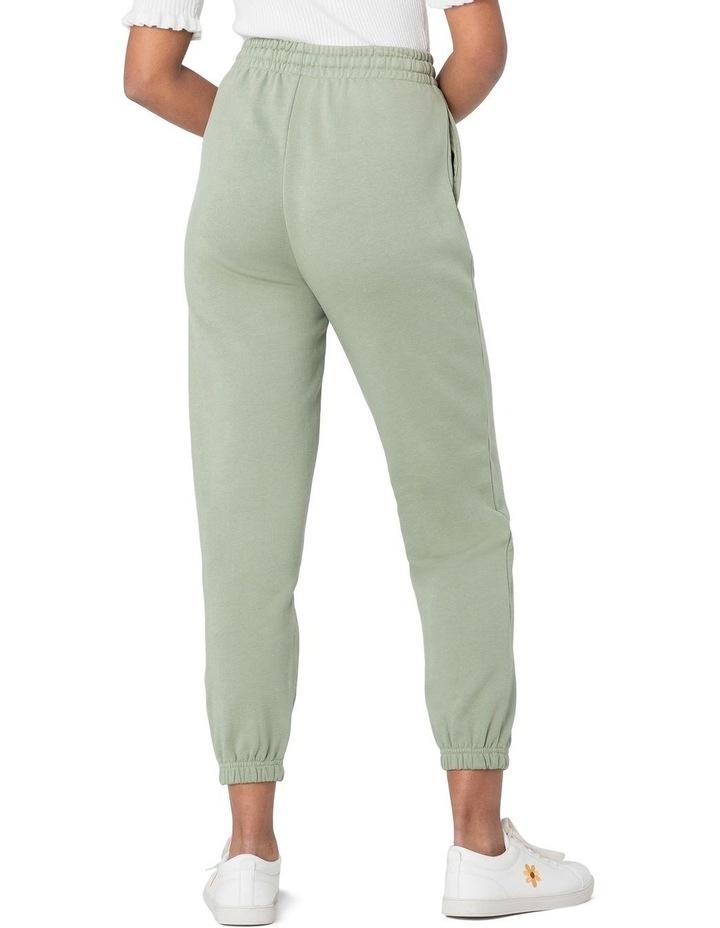 Marissa Fleece Track Pants Green image 3