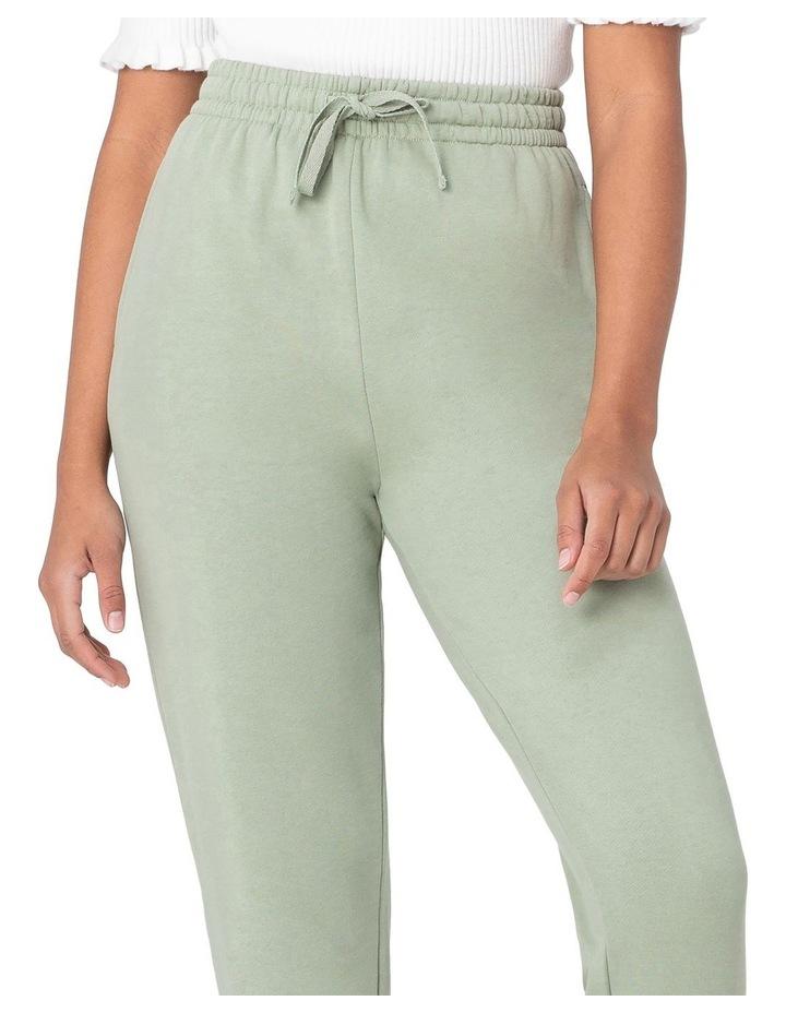 Marissa Fleece Track Pants Green image 4