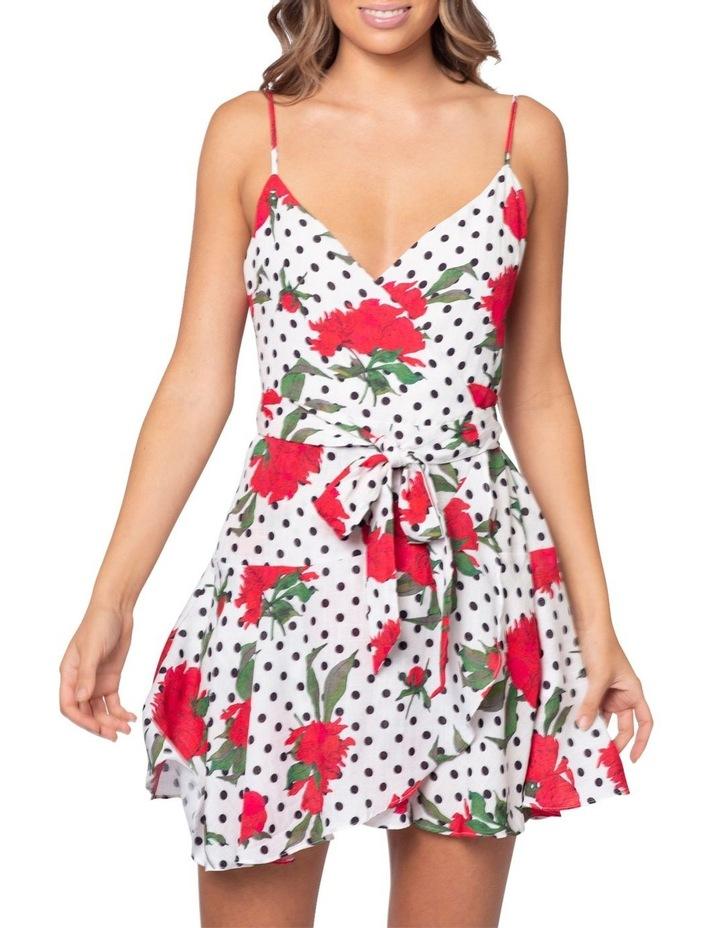 Roman Wrap Dress image 3
