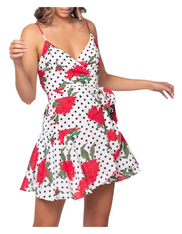 Roman Wrap Dress image 4