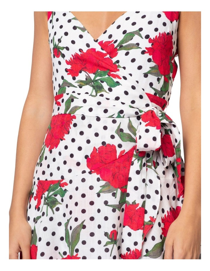 Roman Wrap Dress image 6