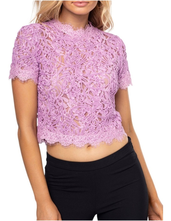 Onyx Lace Top image 4