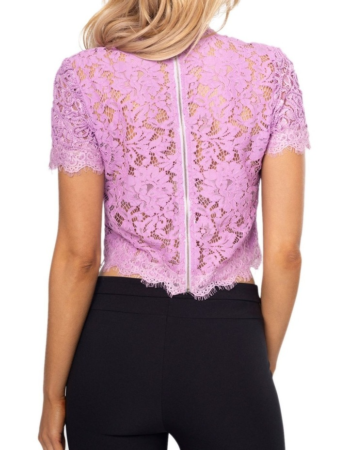 Onyx Lace Top image 5