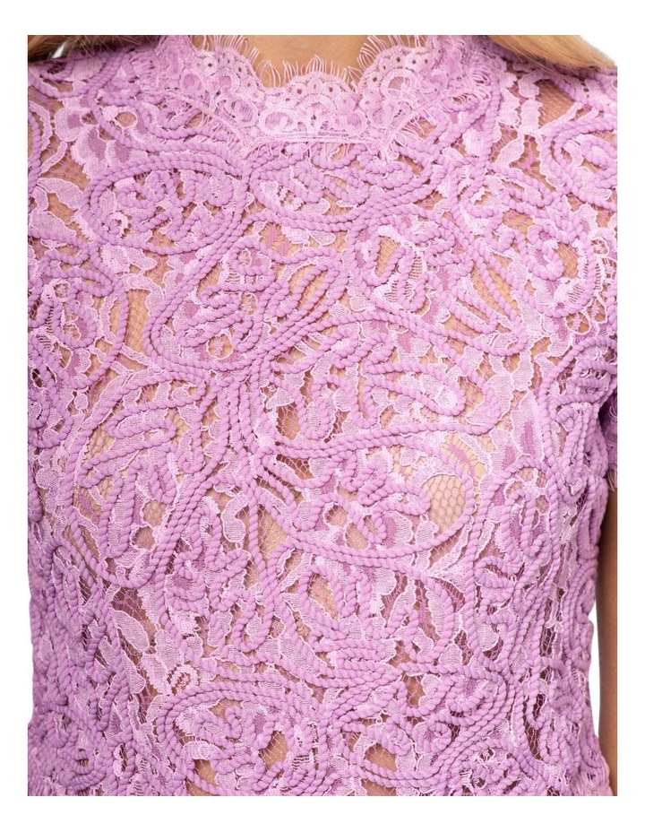 Onyx Lace Top image 6
