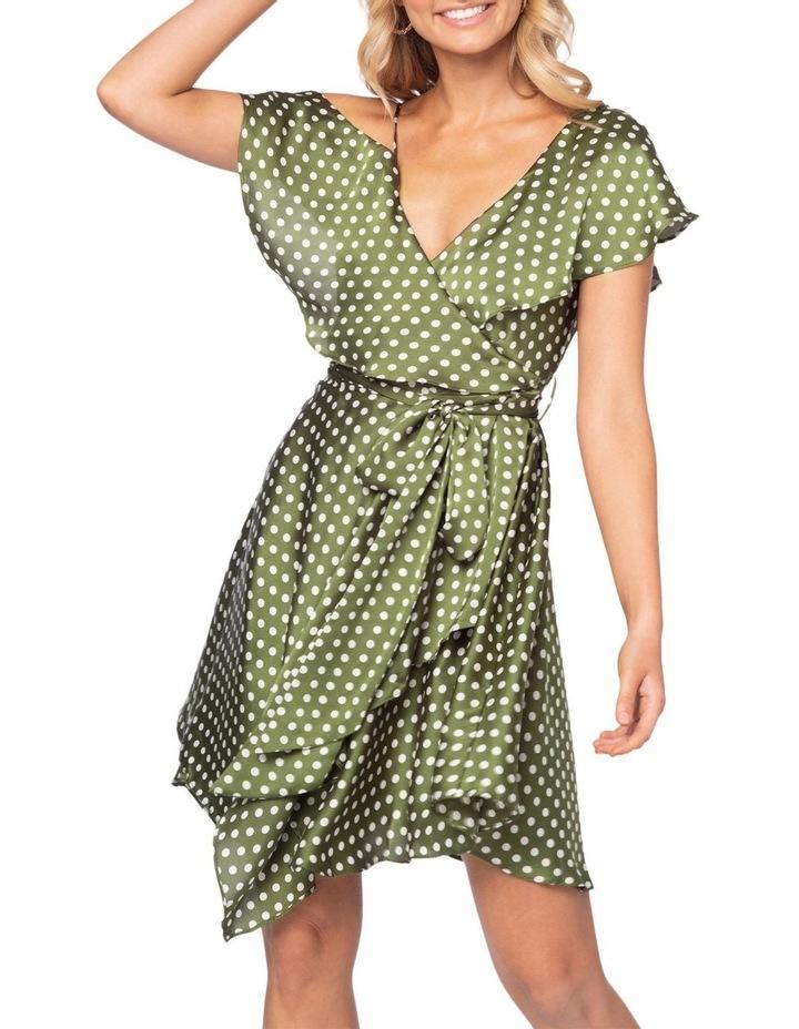 Amore Polka Mini Dress image 3