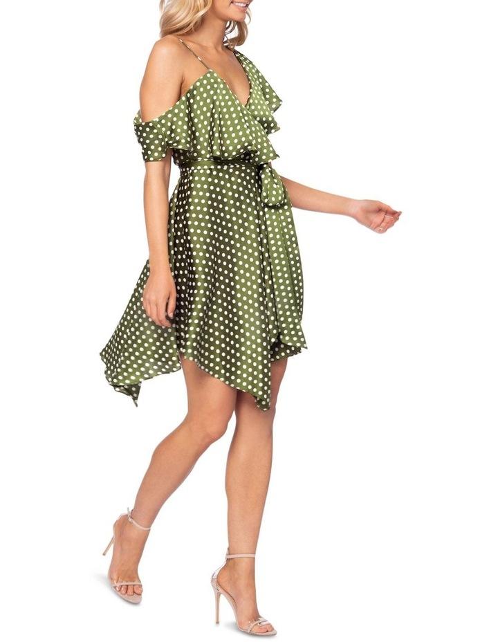 Amore Polka Mini Dress image 4