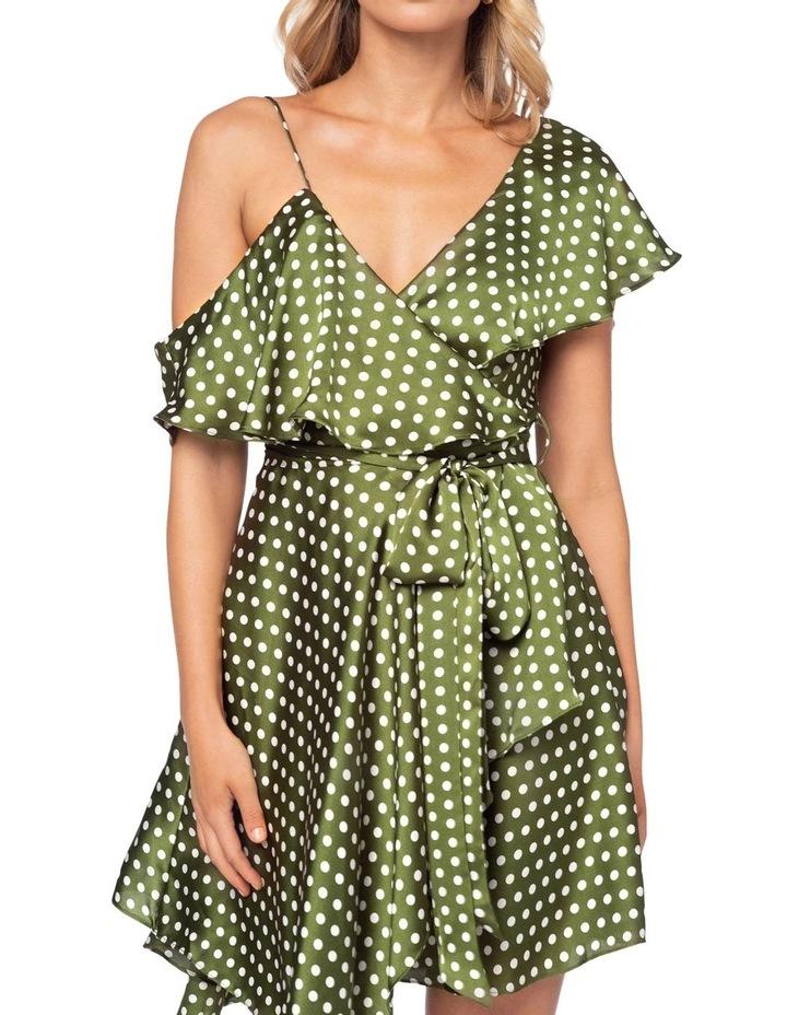 Amore Polka Mini Dress image 6