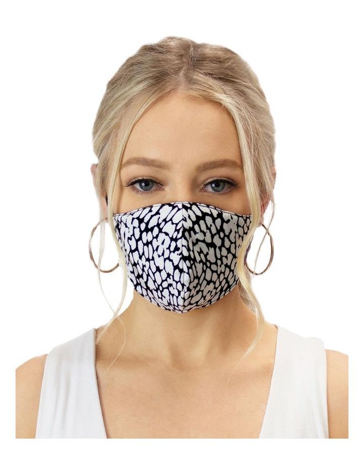Cheetah Print Face Mask image 2
