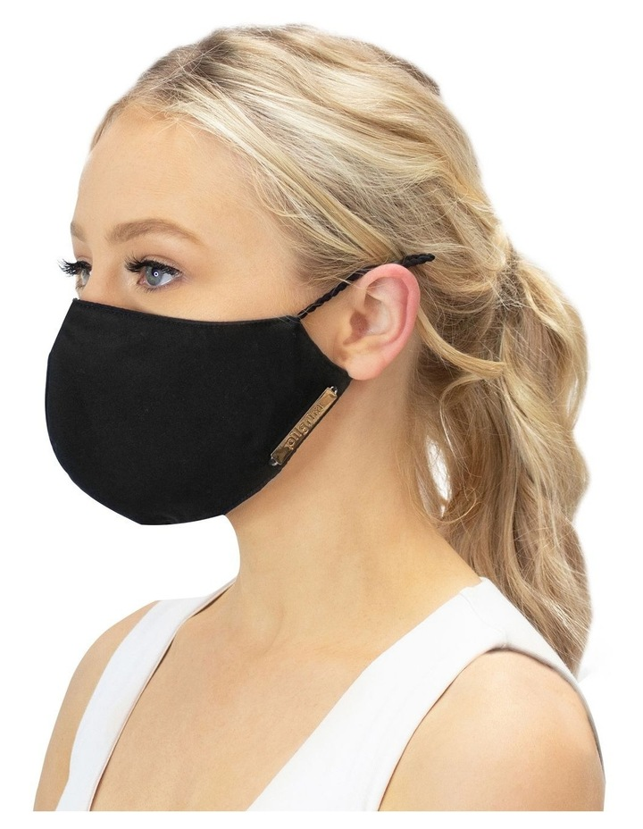 Luxe Black Face Mask image 1