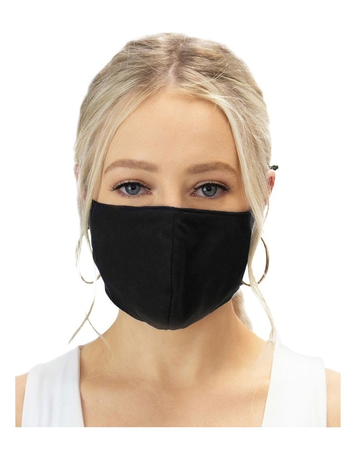 Luxe Black Face Mask image 2