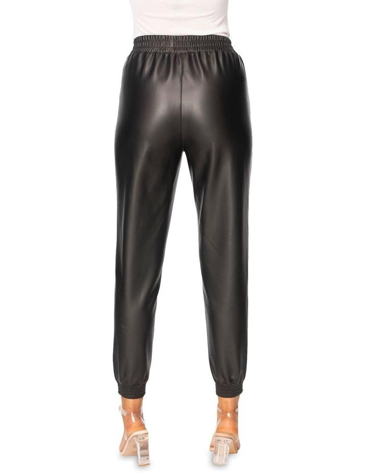 Clio Vegan Leather Jogger image 3