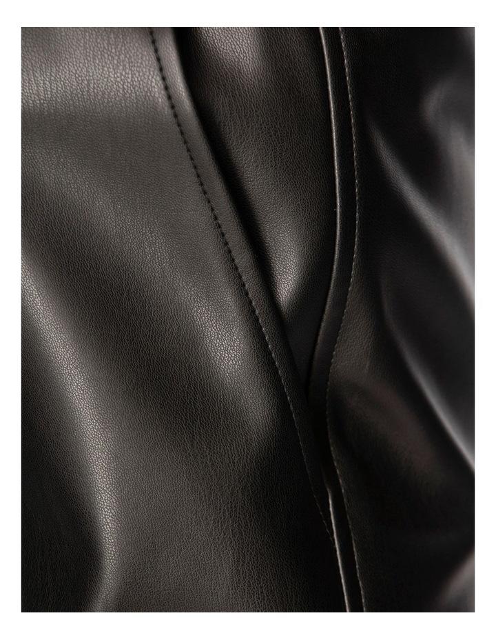 Clio Vegan Leather Jogger image 6