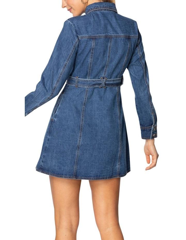 Gale Denim Mini Dress image 3
