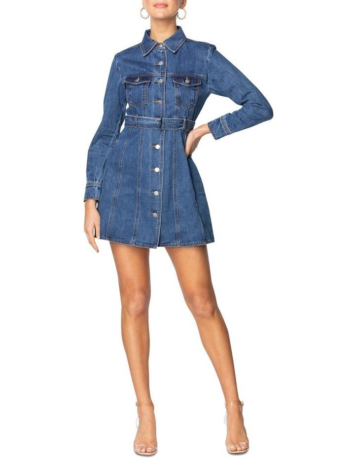 Gale Denim Mini Dress image 4