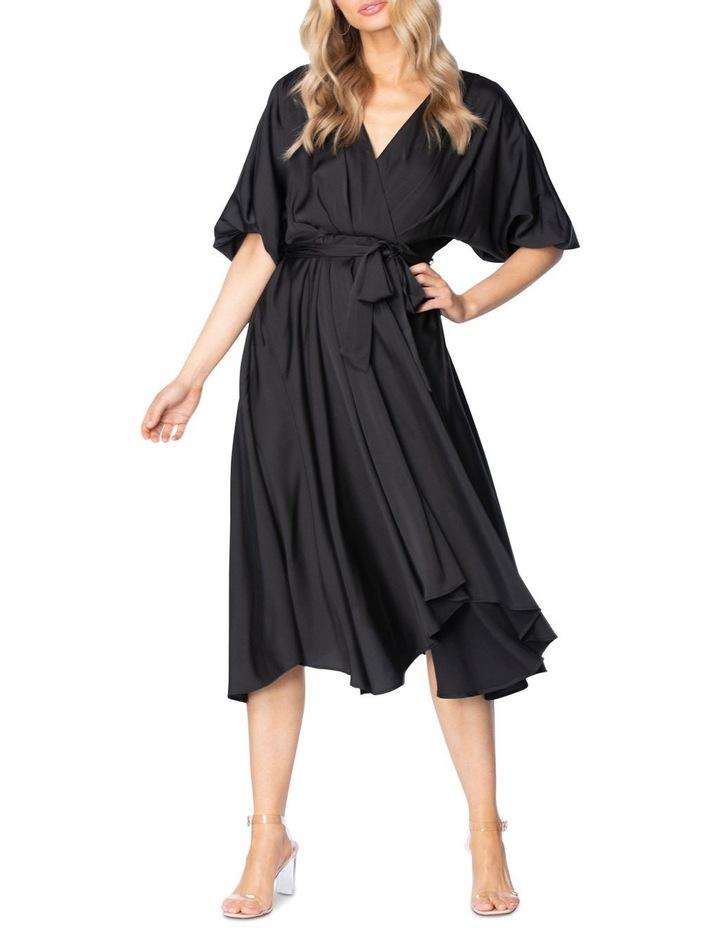 Carry Midi Dress Black image 1
