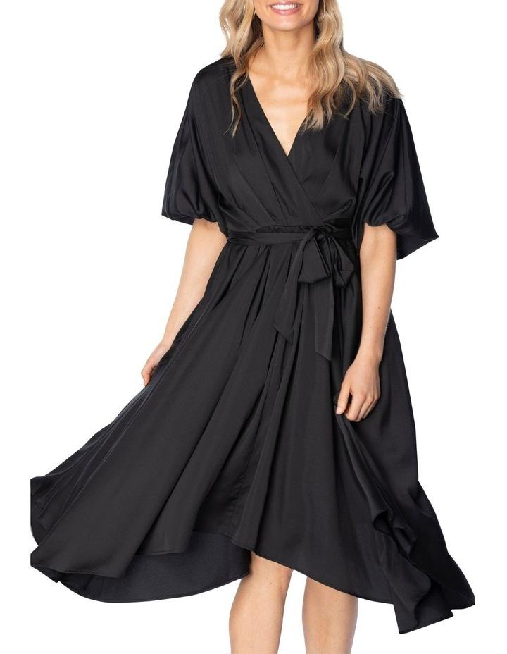 Carry Midi Dress Black image 4