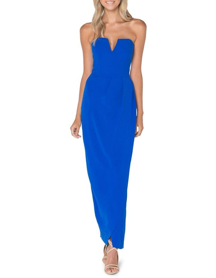 Blue New Jersey Dress image 1