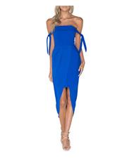 Pilgrim - Blue Off Shoulder Dress