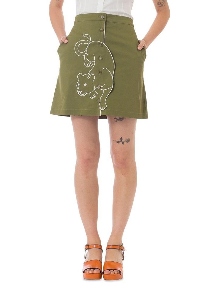 Leopard Ambuscade Skirt image 1