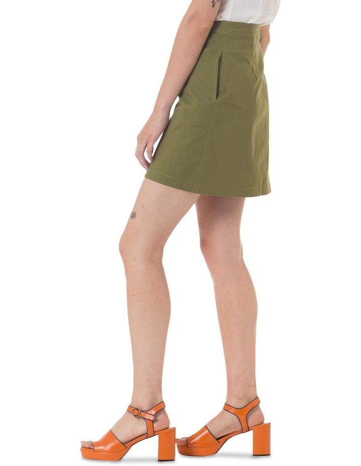 Leopard Ambuscade Skirt image 2