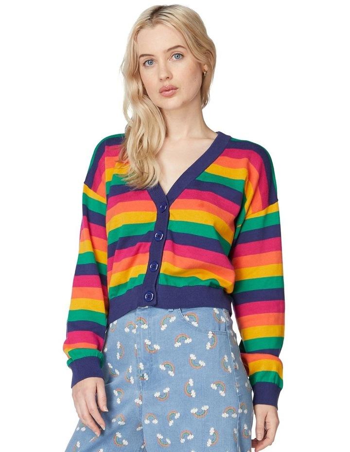 Rainbow Baby Cardi image 1