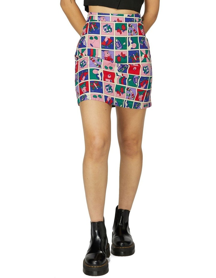 Born In The 90s Skirt image 1
