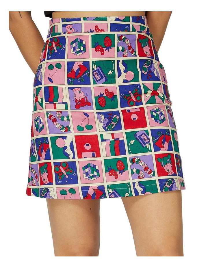 Born In The 90s Skirt image 4