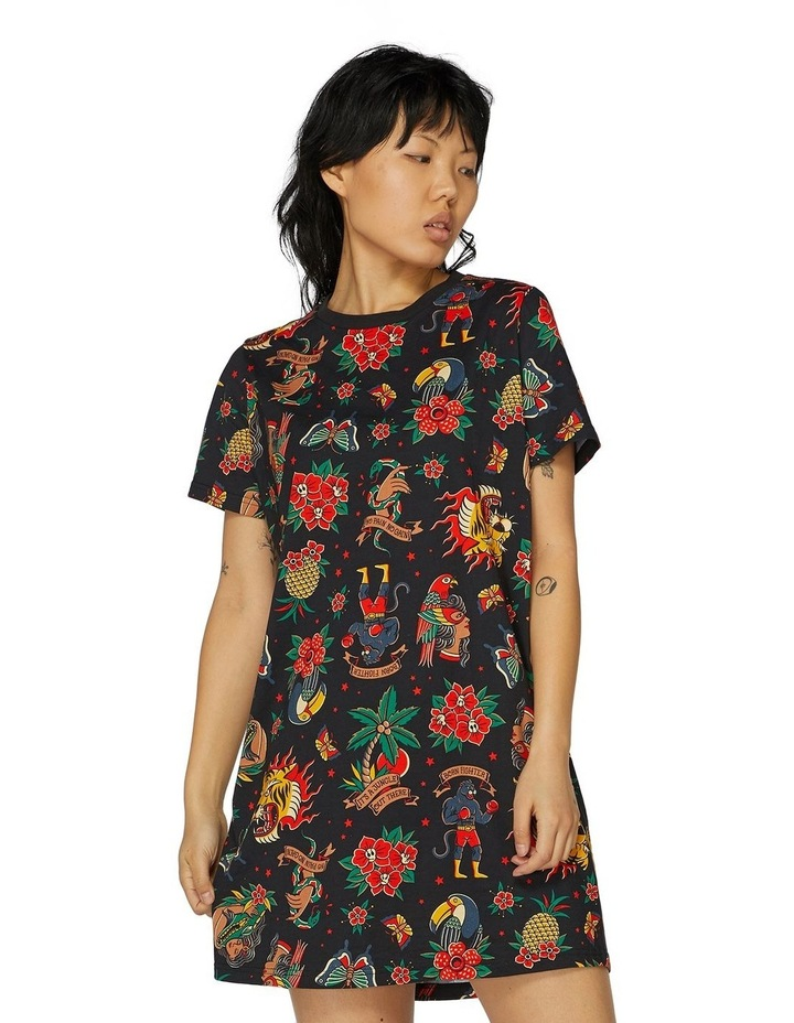 It's A Jungle Out There Tee Dress image 1