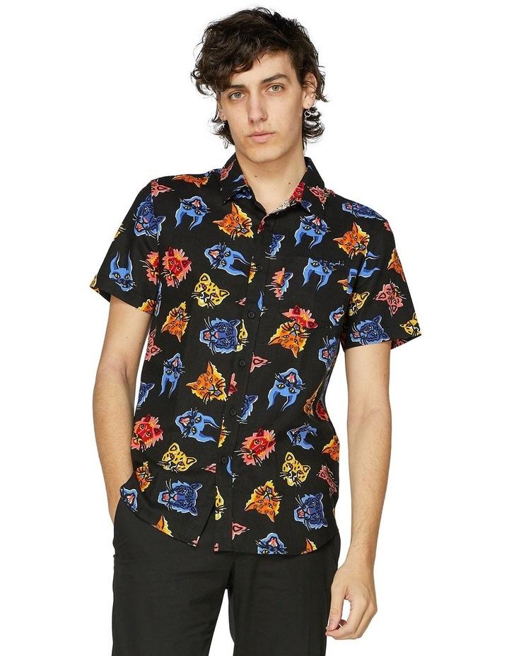 Wild Cat Fam Short Sleeve Shirt image 1