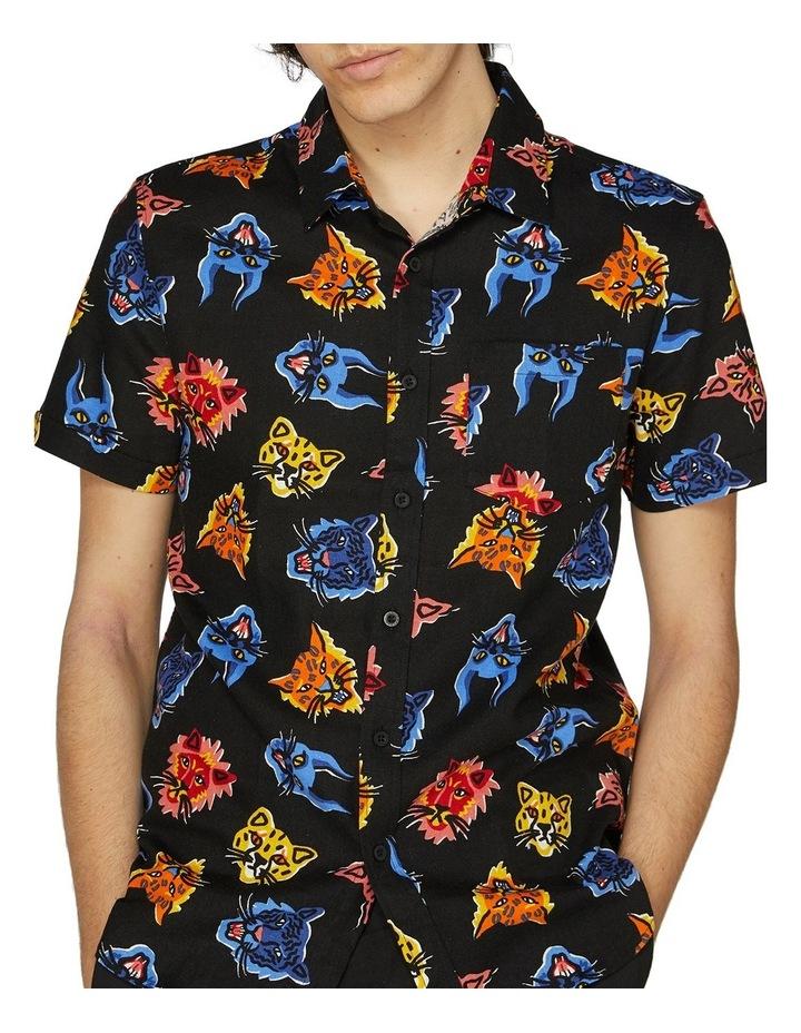 Wild Cat Fam Short Sleeve Shirt image 4