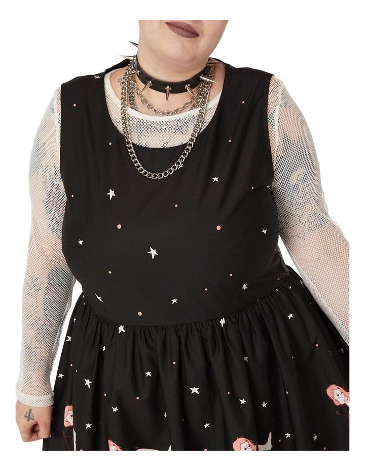 Black Magic Dress Curve image 3