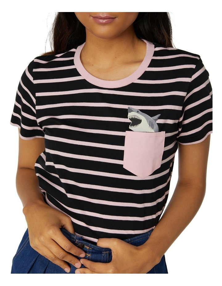 Shark Pocket Tee image 4