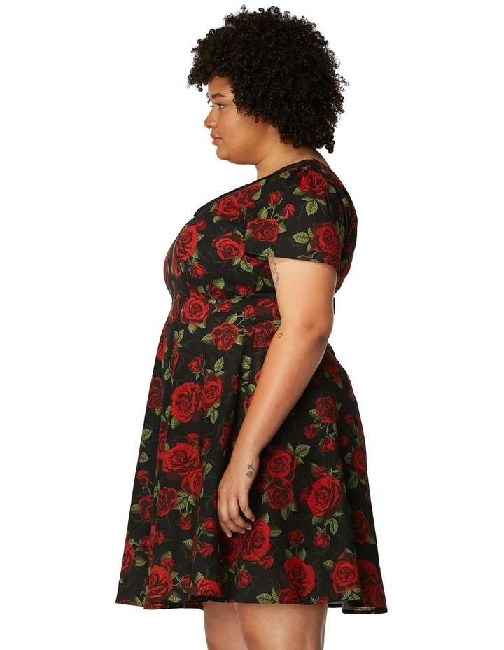 The Roses Are Red Dress Curve image 2