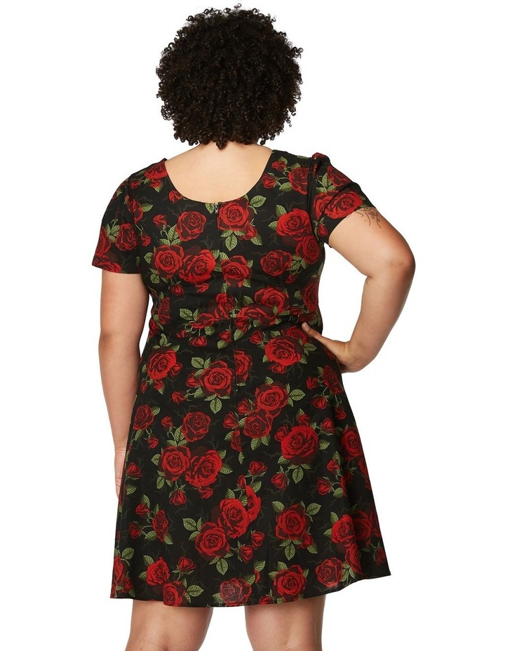 The Roses Are Red Dress Curve image 3