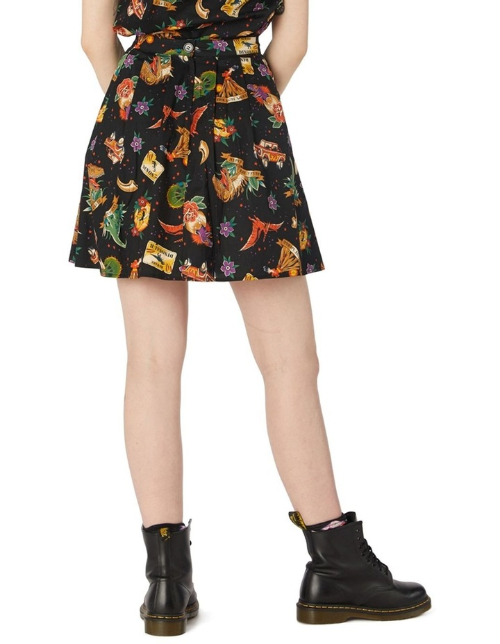 Prehistoric Tattoo Skirt image 3