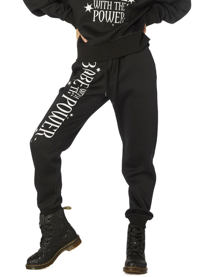 Babe With The Power Track Pants image 1