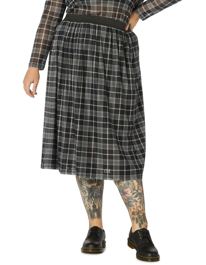 Double Trouble Mesh Skirt Curve image 1