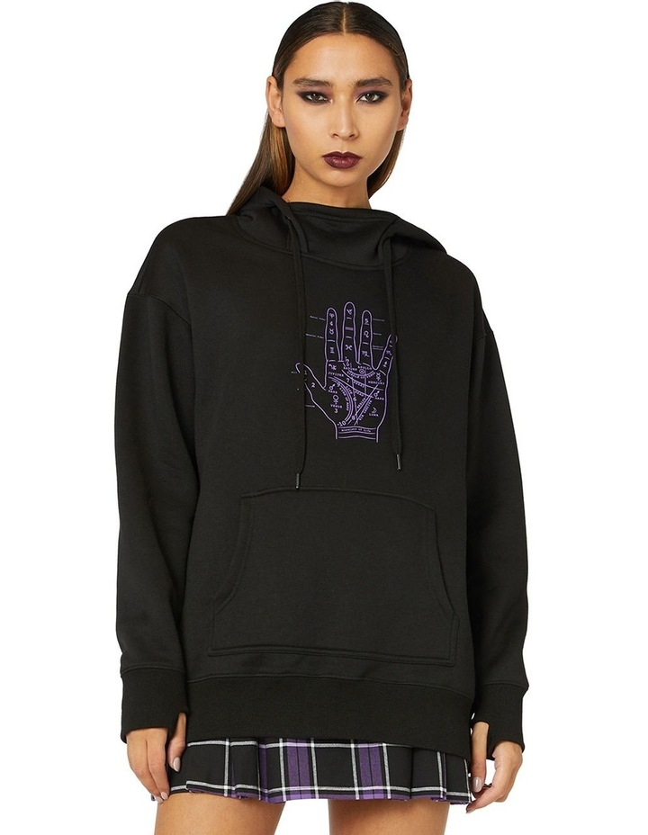 Talk To The Palm Hoodie image 1
