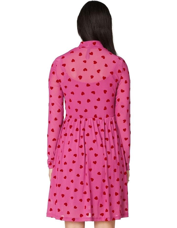Dark Hearts Mesh Dress image 3