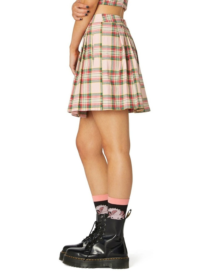 Spring Tartan Mini Skirt image 2