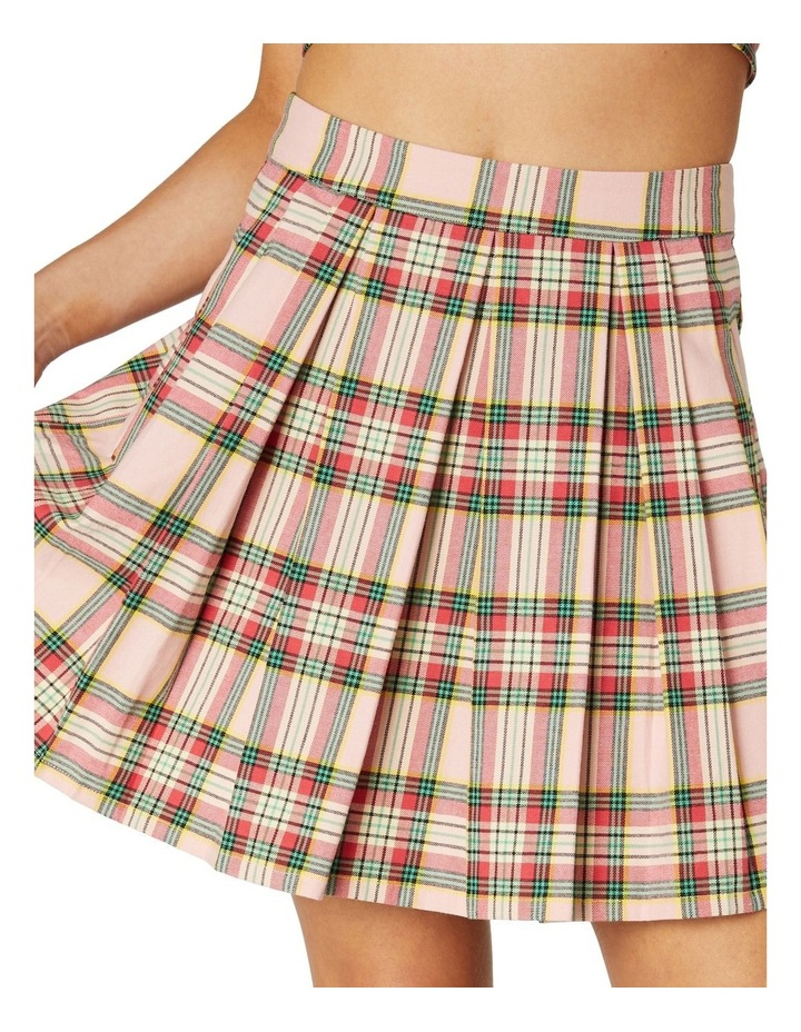 Spring Tartan Mini Skirt image 4