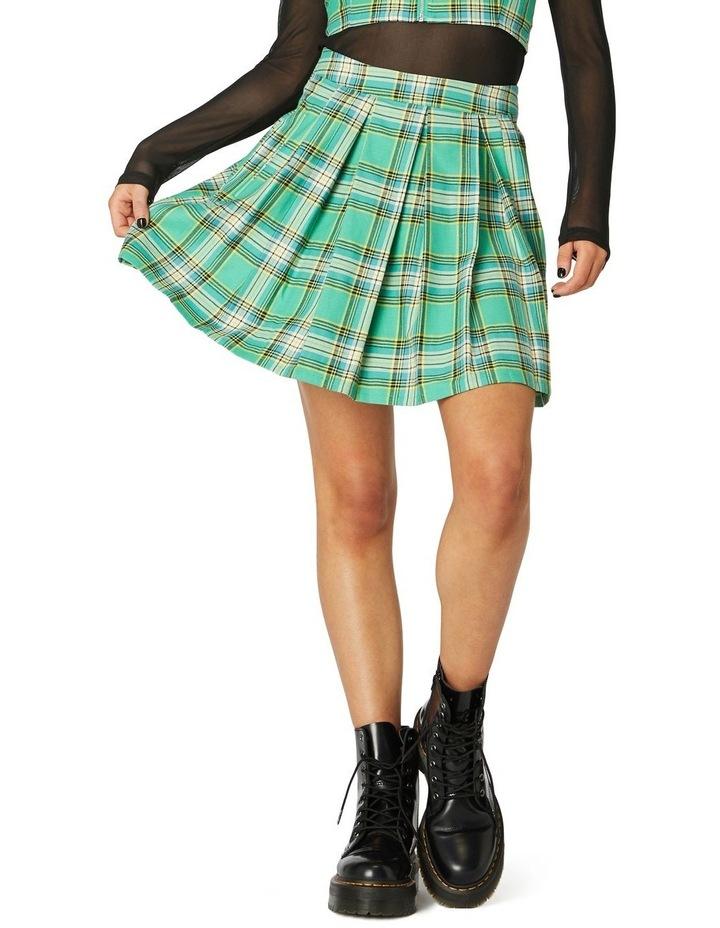 Spring Tartan Mini Skirt image 1