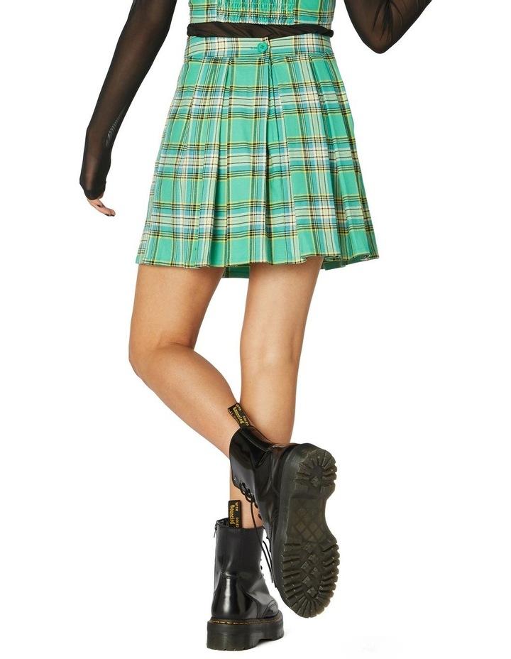 Spring Tartan Mini Skirt image 3